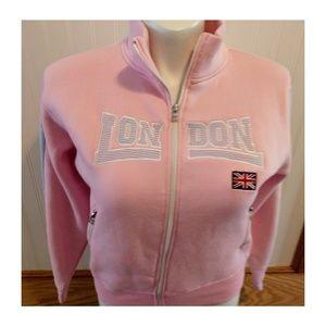 Tops - London pink sweat shirt by F2 original size large